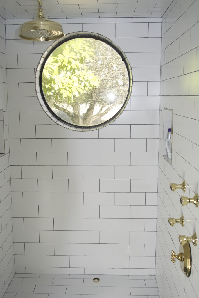 All About That Brass A Polished Brass Bathroom On House